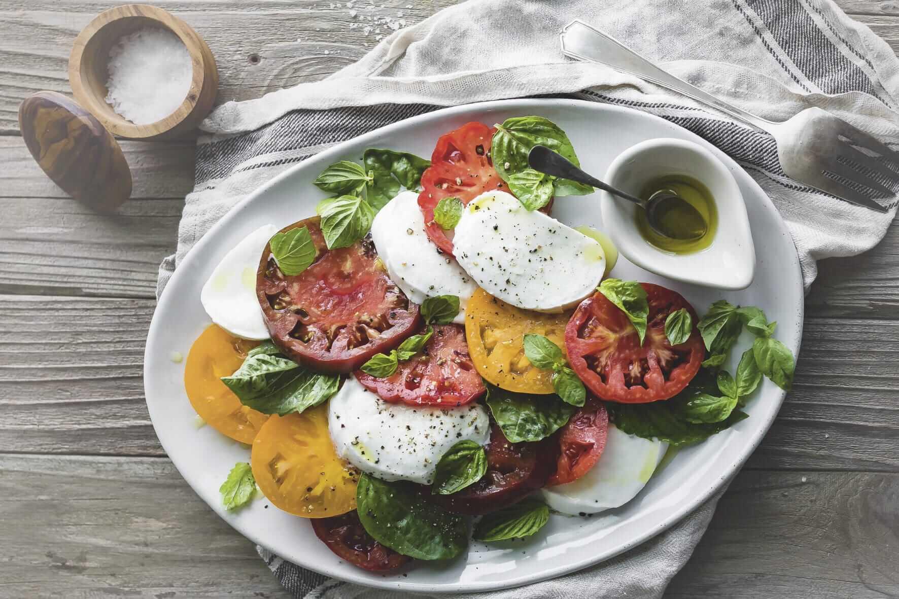 Galbani Mozzarella Classic Caprese Salad - Galbani