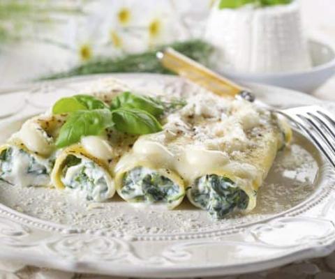 Galbani Ricotta and Spinach Cannelloni - Galbani