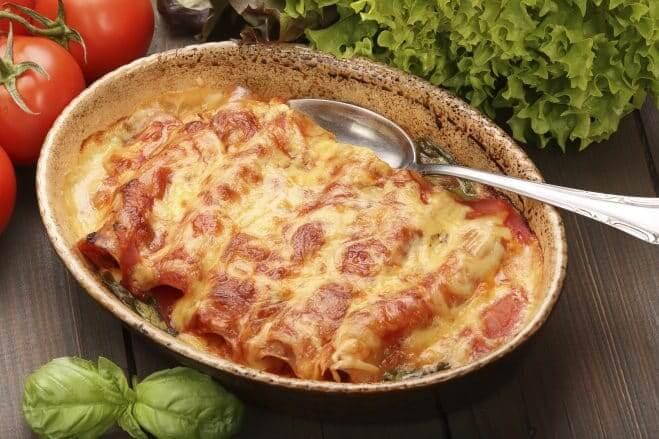 Galbani Mozzarella Cannelloni with Ham - Galbani