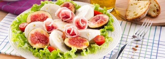 Galbani Mozzarella Caprese Salad with Figs - Galbani