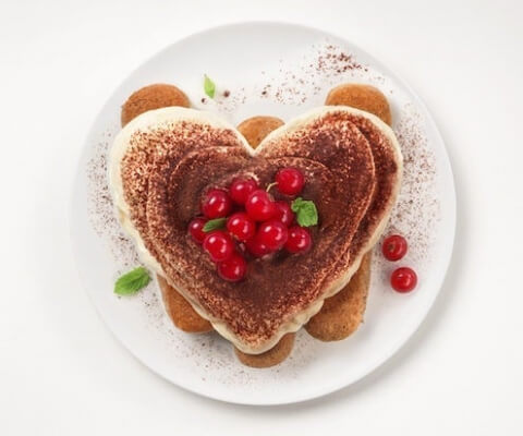 Valentine's Day Tiramisu with Galbani Mascarpone - Galbani