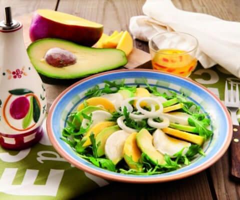 Galbani Mozzarella, Mango and Avocado Salad - Galbani