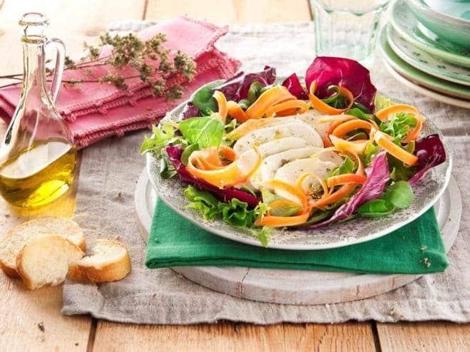 Galbani Mozzarella, Carrots and Chicory Salad - Galbani
