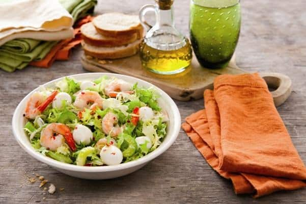 Galbani Mozzarella and Crayfish Salad - Galbani