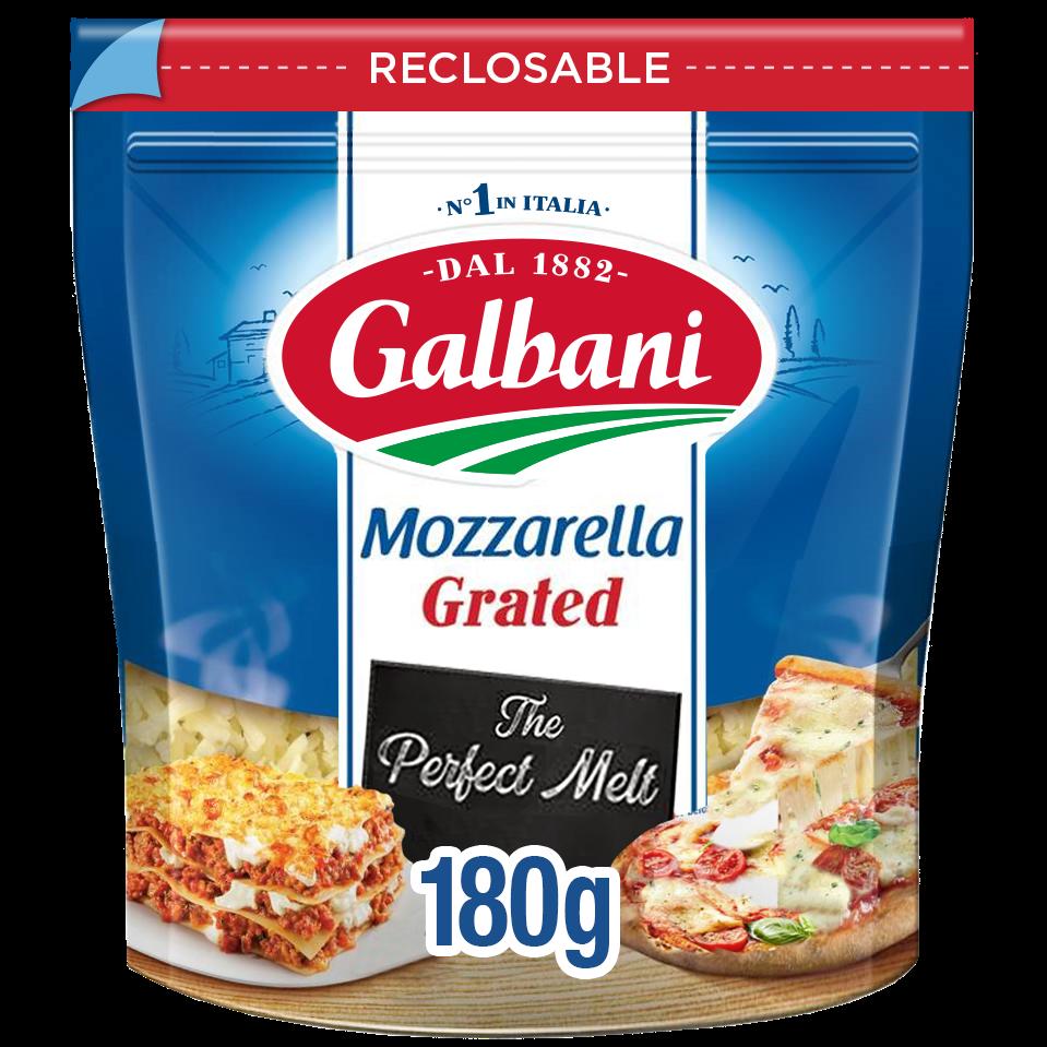 Galbani Grated Mozzarella Cheese 180g